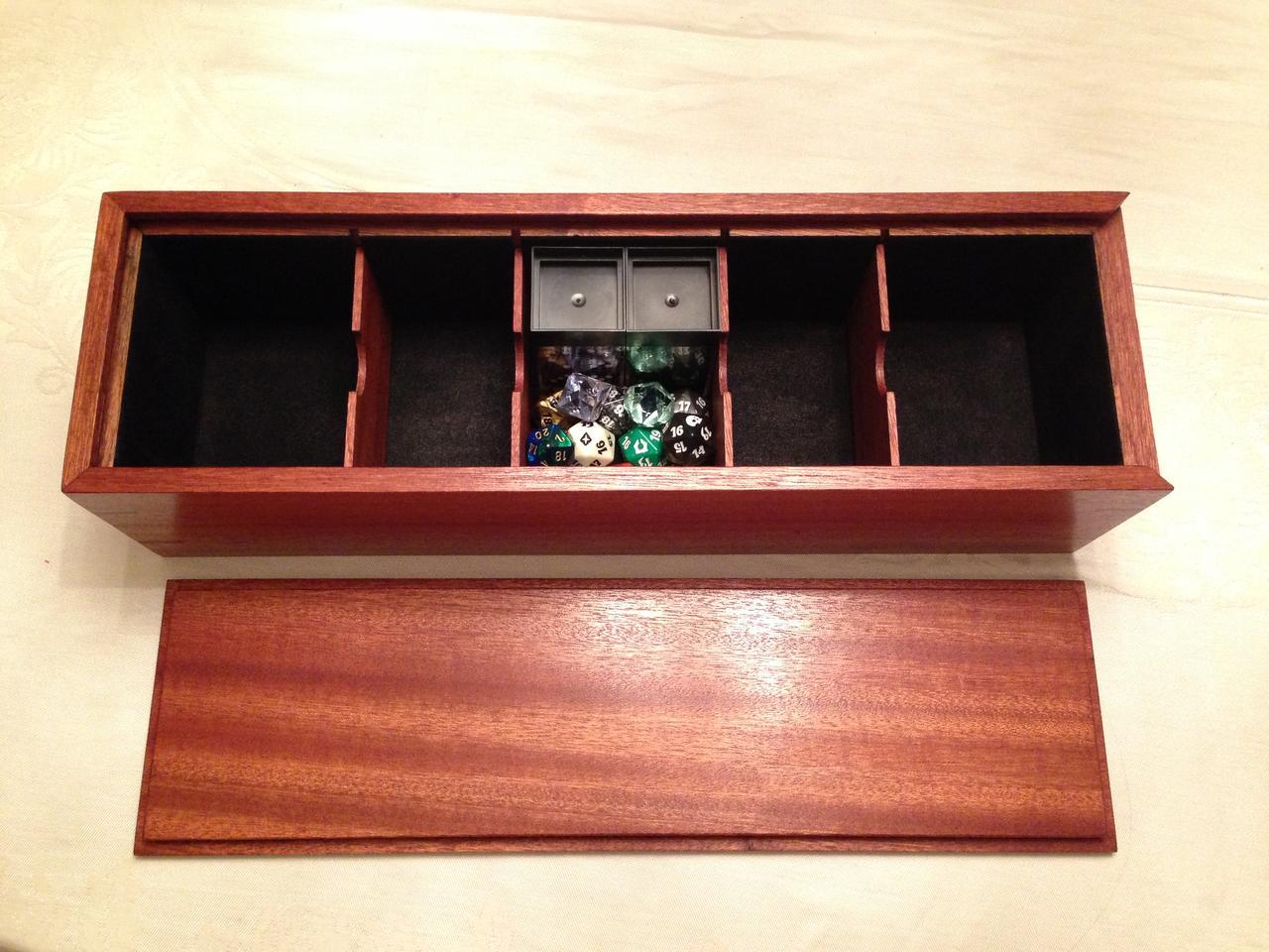 Custom Wood Card Box Magic General Magic Fundamentals Mtg