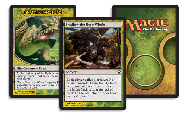 magic the gathering face the hydra rules