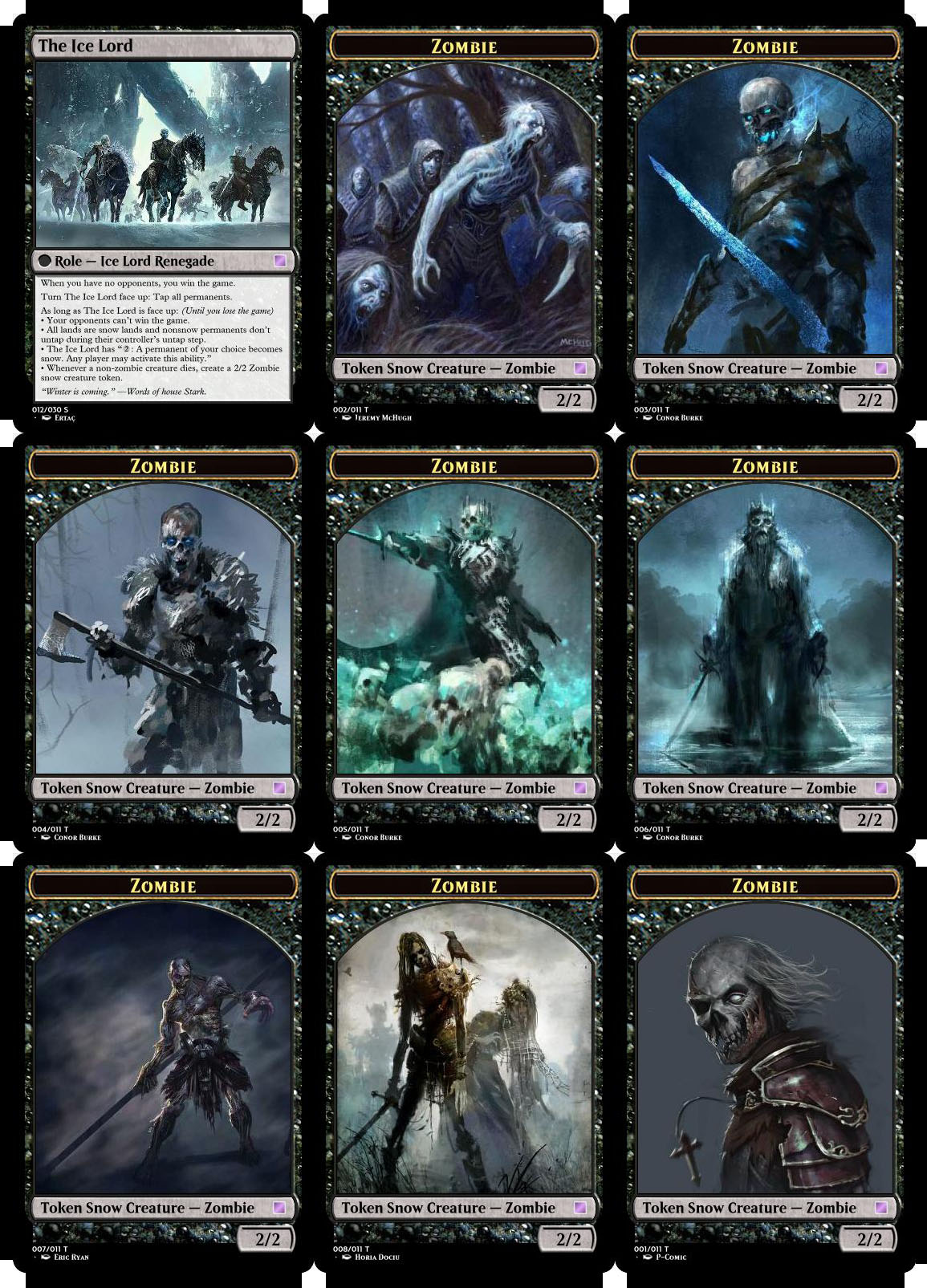 graphic relating to Mtg Tokens Printable referred to as Expanded Kingdoms, a clean EDH Variant - Commander (EDH) - The