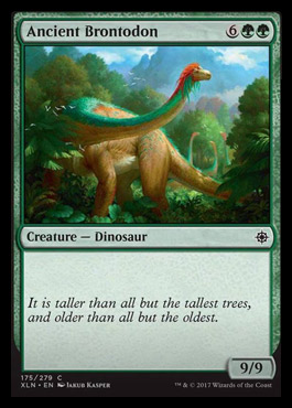 Reddit spoilers - Ancient Brontodon and Looming Altisaur