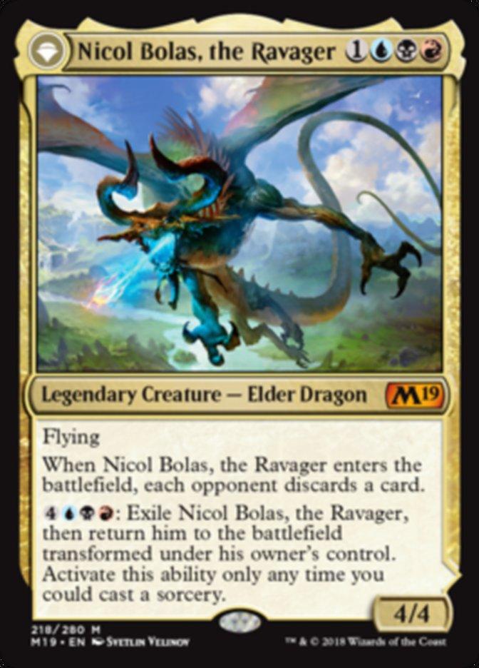 CUBE][M19] Nicol Bolas, the Ravager // Nicol Bolas, the