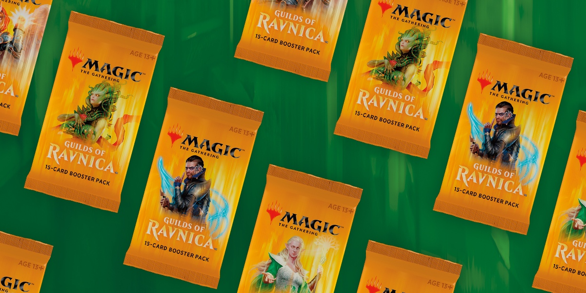 More info - Guilds of Ravnica booster packs, new Boros