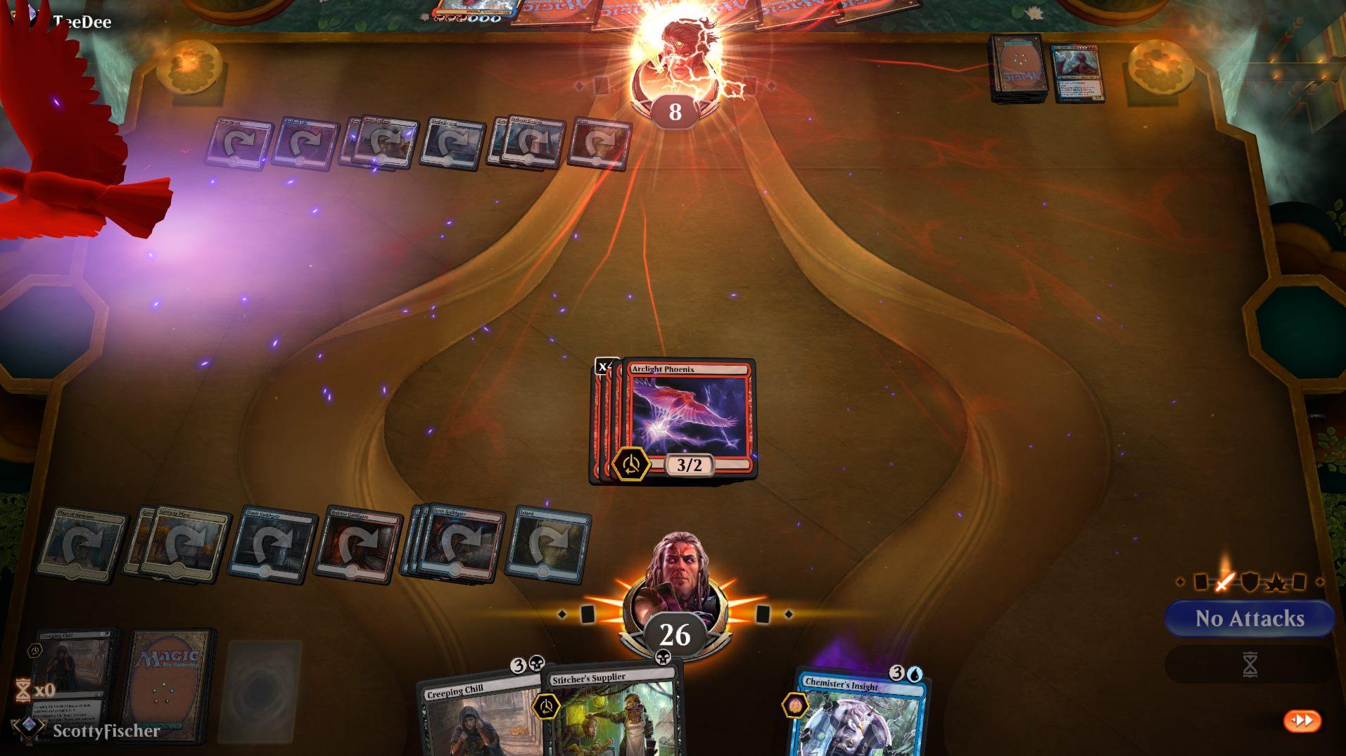 Dredge Phoenix - Arclight Phoenix + Stitcher's Supplier + Creeping