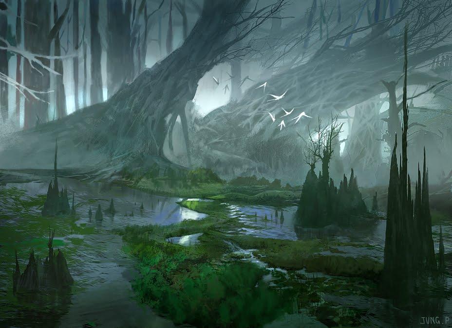 Fantasy Art Of Swamps