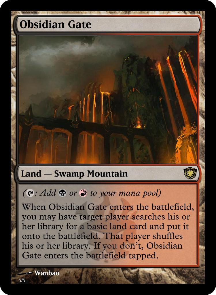 Spin Off Of Shock Lands Please Comment Custom Card Creation Magic Fundamentals Mtg Salvation Forums Mtg Salvation Now that's a one time. spin off of shock lands please comment