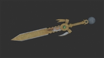 Kamahl's Sword Final Render 01