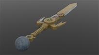 Kamahl's Sword Final Render 03