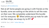 Screenshot_2019-12-03 Ultra PRO on Twitter TremoloBanshee Not at all Some people are going in with friends on the bundle, s[...]