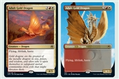 Adult Gold Dragon base