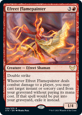 Efreet Flamepainter - Creature - Cards - MTG Salvation
