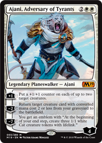 M19 - White Cards Numbers 001 to 042 Core Set 2019 MTG