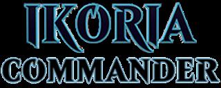 Commander 2020/Ikoria Commander Logo
