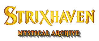 Strixhaven Mystical Archive Logo