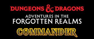 Forgotten Realms Commander Logo