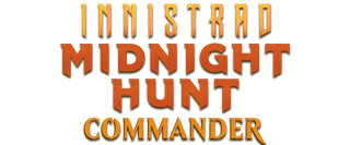 Innistrad: Midnight Hunt Commander Logo